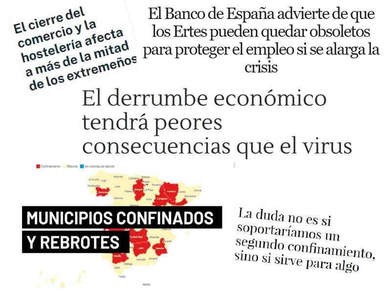 crisis economica por el covid